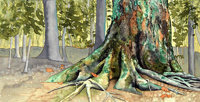 Painting - Mossy Giant by Brenda Jiral