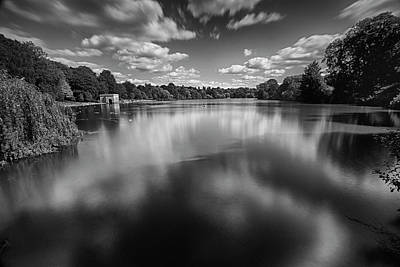 On Trend At The Pool - Mote Park Lake by Dave Godden