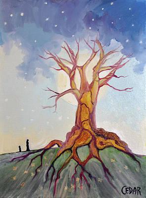 Painting - Mother by Cedar Lee