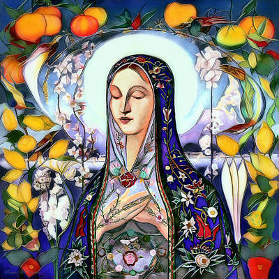 Digital Art - Mother Mary by Pennie McCracken
