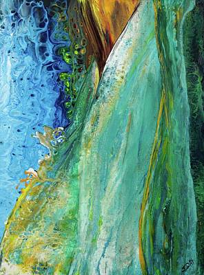 Painting - Mother Nature - Portrait View by Sandra Day