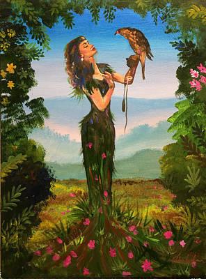 Painting - Mother Nature by Robert Korhonen