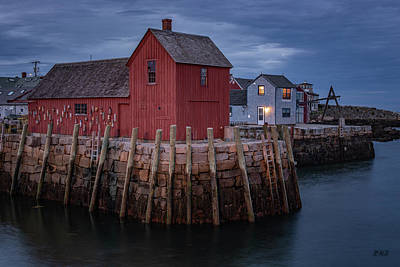 Photograph - Motif Number 1 Rockport Ma by David Gordon