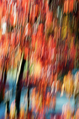 Photograph - Motion Series - 198-c by Paul W Faust - Impressions of Light
