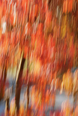 Photograph - Motion Series - 198 by Paul W Faust - Impressions of Light