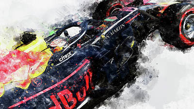 Valentines Day - Red Bull Racing - 08 by AM FineArtPrints