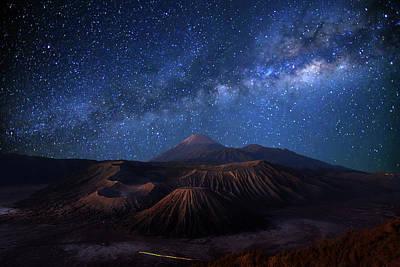 Photograph - Mount Bromo by Monthon Wa