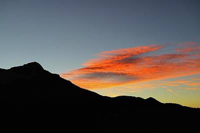 Photograph - Mount Charleston Sunset by Sagittarius Viking