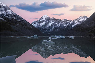Photograph - Mount Cook Sunrise by Photography by KO