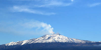 Photograph - Mount Etna 6 by Andrew Fare