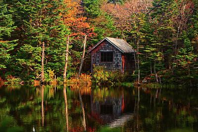 Photograph - Mount Greylock Cabin by Raymond Salani III