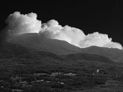 Photograph - Mount Greylock From Cobbles In Black And White by Raymond Salani III
