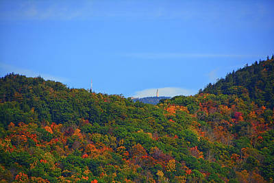 Photograph - Mount Greylock Tower High Above by Raymond Salani III