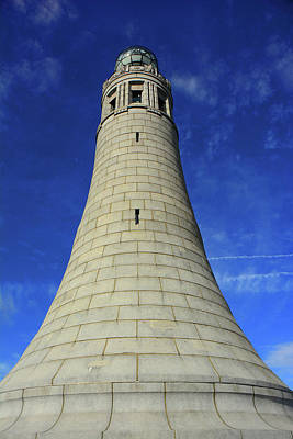 Photograph - Mount Greylock Tower Up And Close by Raymond Salani III