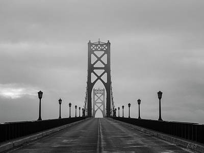 Photograph - Mount Hope Bridge II Bw by David Gordon