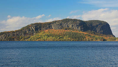 Photograph - Mount Kineo by Dan Sproul