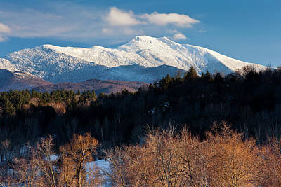Pop Art Rights Managed Images - Mount Mansfield Winter Scenic 2 Royalty-Free Image by Alan L Graham