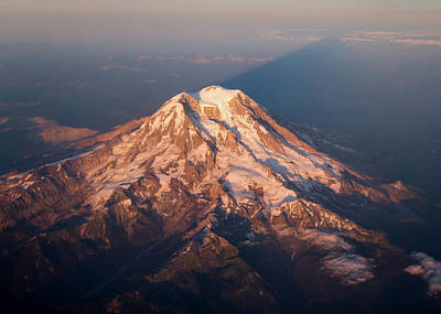 Photograph - Mount Rainier by Dave Bowman