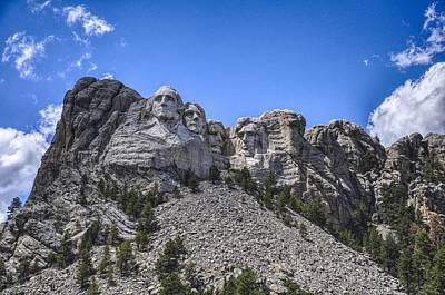 Politicians Royalty-Free and Rights-Managed Images - Mount Rushmore  by Chance Kafka