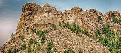 Photograph - Mount Rushmore by Dheeraj Mutha