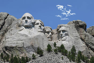 Photograph - Mount Rushmore by Gary Gunderson