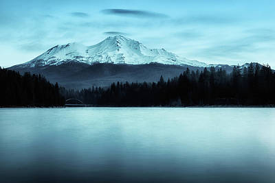 Photograph - Mount Shasta Morning by Marnie Patchett