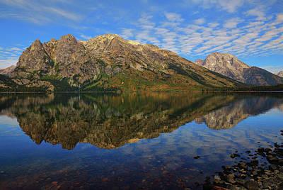 Photograph - Mount St John Reflections by Greg Norrell
