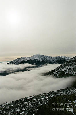 Photograph - Mount Washington above a cloudy Great Gulf by Larry Davis Custom Photography