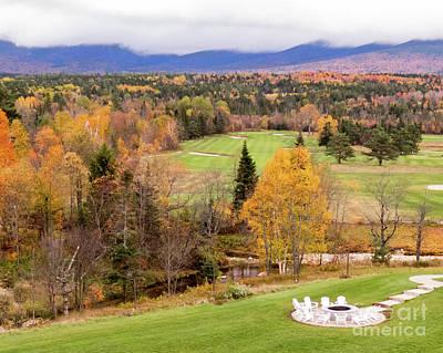 Photograph - Mount Washington Golf Course 2 by Cheryl Del Toro
