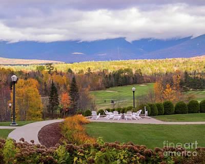 Photograph - Mount Washington Golf Course by Cheryl Del Toro