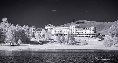 Dan Beauvais Royalty-Free and Rights-Managed Images - Mount Washington Hotel 7475 by Dan Beauvais