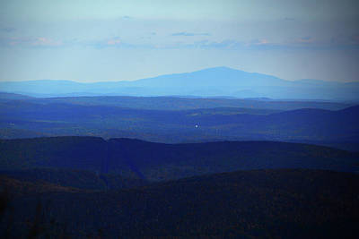 Photograph - Mount Washington In New Hampshire From Mount Greylock by Raymond Salani III