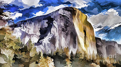 Painting - Mountain A18-70 by Ray Shrewsberry