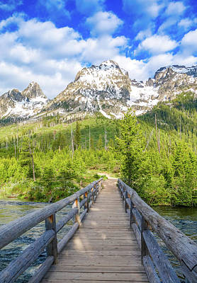 Photograph - Mountain Bridge by Dan Sproul