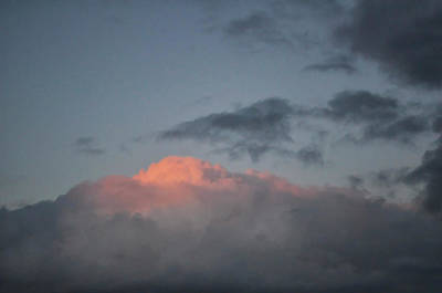 Photograph - Mountain Cloud by Kathleen Gauthier