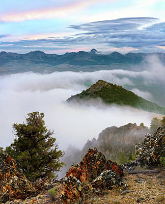 Photograph - Mountain Fog by Leland D Howard