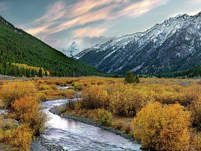Photograph - Mountain Grandeur by Leland D Howard