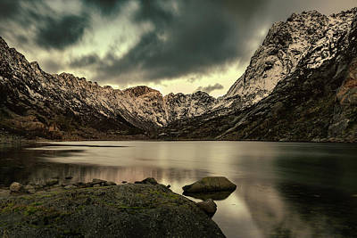 Photograph - Mountain Lake by Kai Mueller