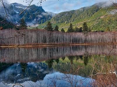 Photograph - Mountain Lake Reflections by Farol Tomson