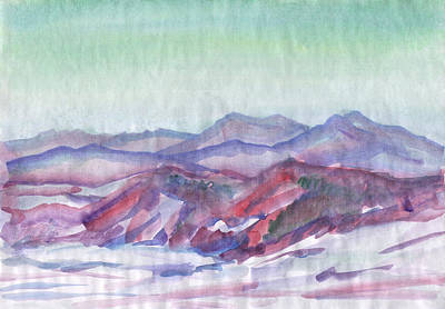 Painting - Mountain Landscape 2 by Irina Dobrotsvet