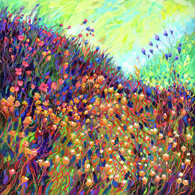 Wall Art - Painting - Mountain Meadow #2 by Charles Wallis