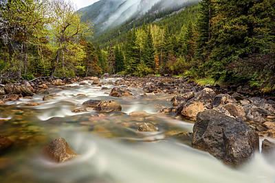 Photograph - Mountain Mist by Leland D Howard