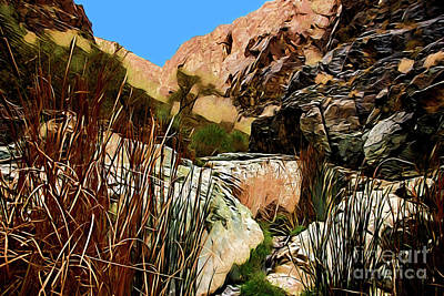 Painting - Mountain Pass A18-74 by Ray Shrewsberry