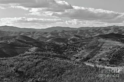 Mountain Paths Art Print