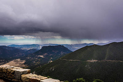 Photograph - Mountain Rain by James L Bartlett
