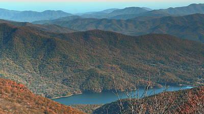 Photograph - Mountain Ridges by Allen Nice-Webb