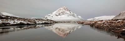 Photograph - Mountain Sunrise - Glencoe - Scotland by Grant Glendinning