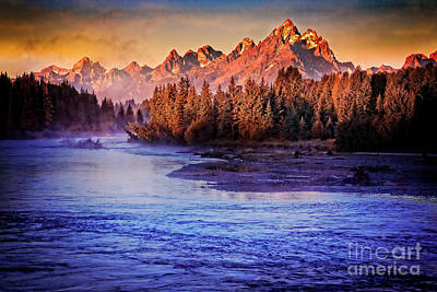 Photograph - Mountain Sunrise by Scott Kemper