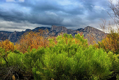 Mark Myhaver Royalty Free Images - Mountain Valley No33 Royalty-Free Image by Mark Myhaver