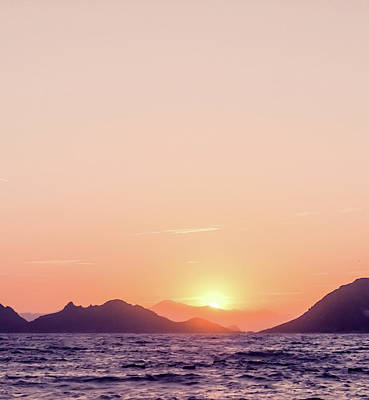 Photograph - Mountain View At Sunset I by Anne Leven